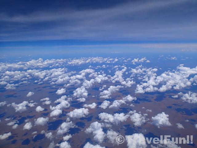 オーストラリア上空